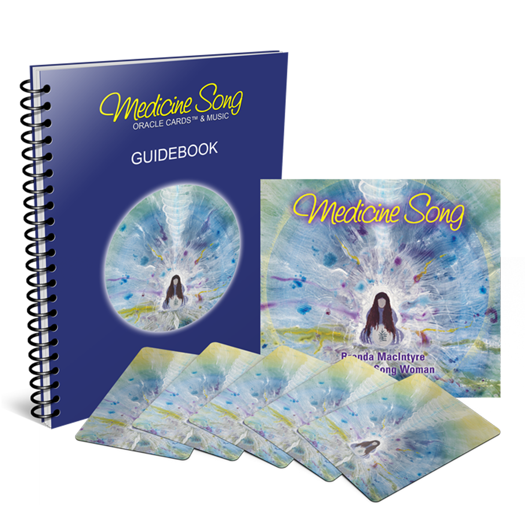 Medicine Song Oracle Cards: Deck & Downloadable CD