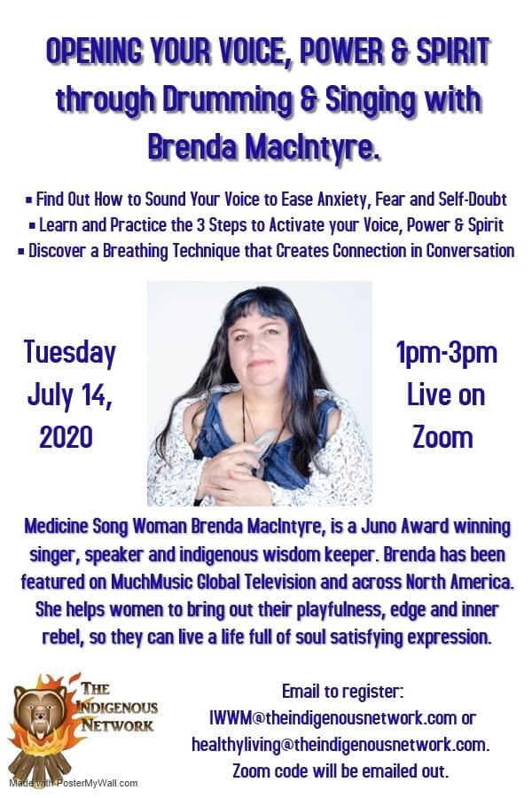 Sing Yourself Alive Drumming Circle June 2020