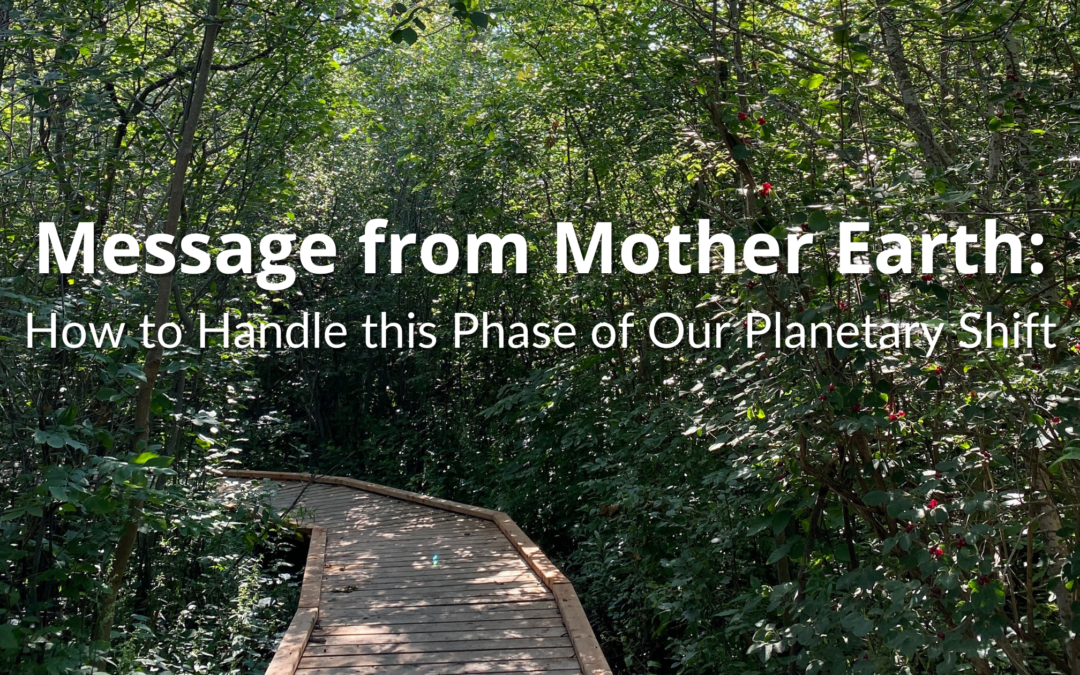 Message from Mother Earth: How to Handle this Phase of Our Planetary Shift